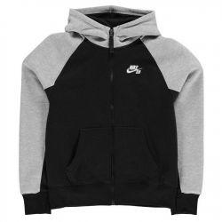 Nike Everett BLUZA ROZPINANA Z KAPTUREM r 158-170