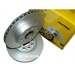 TEXTAR TARCZE AUDI A3 VW GOLF V , VI 280 mm