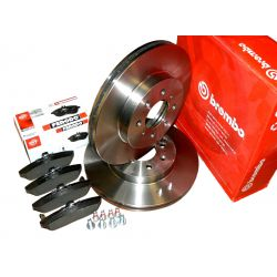 BREMBO Tarcze + Klocki HONDA Civic ROVER 400 45 25
