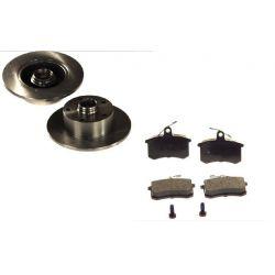 KRAFT Tarcze + Klocki AUDI A4 i A4 Avant Tył