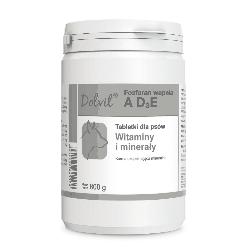 DOLVIT FOSFORAN WAPNIA AD3E 800 g tabletki