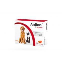 ANTINOL SIZAROL 120 kapsułek Zwierzęta
