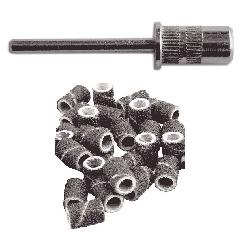 Frez metalowy nośnik +25 NAKŁADKI ŚCIERNE pedicure