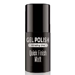 QUICK FINISH MAT TOP MAT LAKIER HYBRYDOWY GEL POLI
