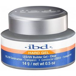 IBD BUILDER HARD GEL 14g ŻEL LED/UV CLEAR