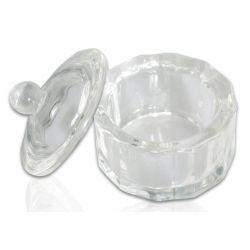Kieliszek szklany do henny, liquid z pokrywką