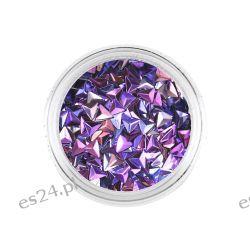 Trójkąty Opalizujące Unicorn 3D Purple 1g