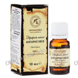 Olejek Cyprysowy, 100% Naturalny, Aromatika, 10ml Mydelniczki