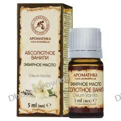 Olejek Waniliowy, 100% Naturalny, Aromatika, 5ml Oczyszczanie i demakijaż