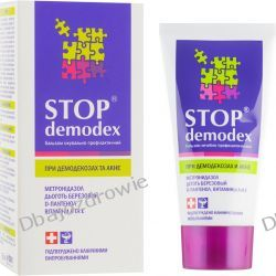 Balsam Stop Demodex (Demodekoza, Nużyca, Trądzik), 50 ml Dla diabetyków
