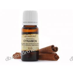 NATURALNY OLEJEK CYNAMONOWY (CYNAMON), AROMATIKA 10 ml  Kremy i maści