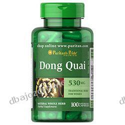 DONG QUAI, 530 mg / 100 KAPS., PURITAN'S PRIDE  Stawy, kości, mięśnie