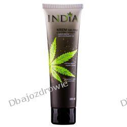 Krem do Rąk Ochronny z Olejem Konopnym, India Cosmetics, 100ml Preparaty witaminowo-mineralne