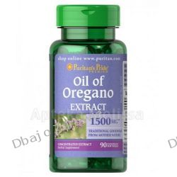 OLEJ Z OREGANO OIL OF OREGANO EXTRACT 1500 MG/90 KAPS., PURITANS PRIDE Odporność