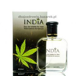 Woda Toaletowa o Zapachu Konopi Męska, 100 ml India Cosmetics Mydła