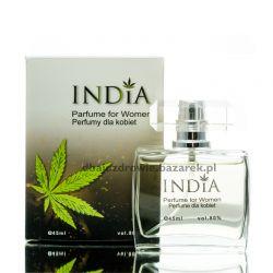 Perfumy o Zapachu Konopi Damskie, India Cosmetics, 45 ml Perfumy i wody