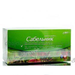 Sabelnik, Siedmiopalecznik Błotny z Zieloną Herbatą, 25 Saszetek x 2 g Preparaty witaminowo-mineralne