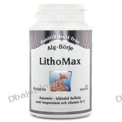 Lithomax Suplement Diety na Stawy, Kości, Alg-Börje, 250 tabletek Preparaty witaminowo-mineralne