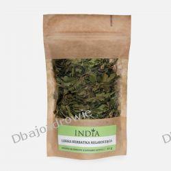 Lekka Ziołowa Herbata Relaksująca, India Cosmetics, 20g Preparaty witaminowo-mineralne