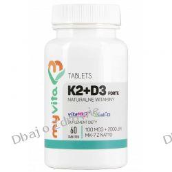 WITAMINA K2 MK7, 100mcg + D3 2000IU, 60 tab., MyVita
