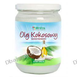 Masło Kokosowe Nierafinowane, Tłoczone na Zimno, MyVita, 500 ml Preparaty witaminowo-mineralne