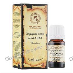 Olejek Cytrynowy, Aromatika, 5 ml Zioła