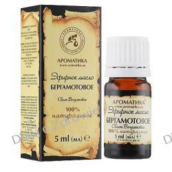 Olejek Bergamotowy, 100% Naturalny, Aromatika, 5 ml Kremy i maści