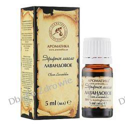 Olejek Lawendowy, 100% Naturalny, Aromatika, 5 ml Preparaty witaminowo-mineralne