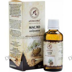 Olej Cedrowy Syberyjski, 100% Naturalny, 50 ml, Aromatika