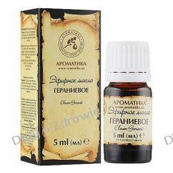 Olejek Geraniowy (Pelargonium), 100% Naturalny, Aromatika, 5 ml  Oleje