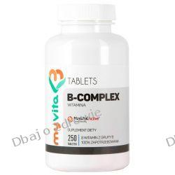 Witamina B Complex, 250 tabletek, Myvita Pozostałe