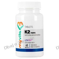 Witamina K2 MK-7, Myvita, 60 tabletek Oczyszczanie
