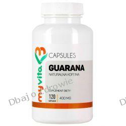 Guarana 400 mg Myvita, 120 Kapsułek Pamięć, układ nerwowy