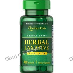 HERBAL LAXATIVE PURITAN'S PRIDE 100 TABLETEK ZAPARCIA