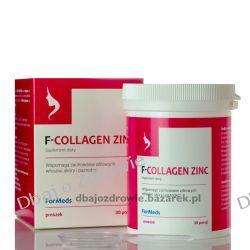 F- COLLAGEN ZINC, KOLAGEN I CYNK FORMEDS  Sól i pieprz