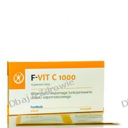 F- VIT C 1000 WITAMINA C FORMEDS, 10 SASZETEK Oczyszczanie