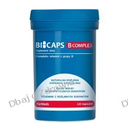 BICAPS B Complex, Formeds, Witaminy B, 120 kapsułek Oleje