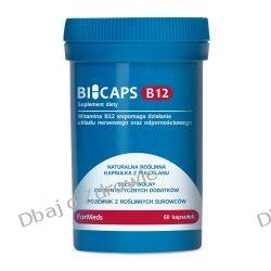 BICAPS B12, FORMEDS 60 KAPSUŁEK WITAMINA B12 Oczyszczanie