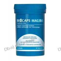 BICAPS MAG B6, 60 KAPSUŁEK MAGNEZ+WITAMINA B6 Sól i pieprz