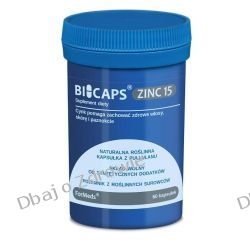 BICAPS ZINC15, Formeds, Cynk, 60 kapsułek Przyprawy i zioła