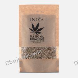 Nasiona Konopne Lekko Prażone, India, 250g Delikatesy