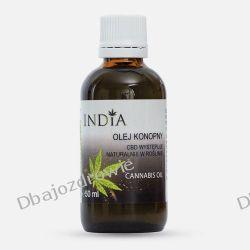 Olej Konopny z CBD, India, 50 ml Oczyszczanie
