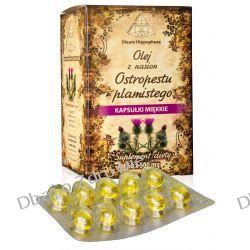 Olej z Nasion Ostropestu Plamistego, Suplement Diety, 60 kapsułek 500 mg Mydła