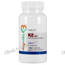 Witamina K2 MK-7 MAX 200mcg, Myvita, 120 tabletek