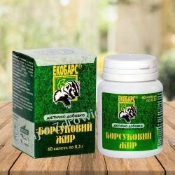 Tłuszcz Borsuka, 60 kapsułek Płyny, emulsje, olejki