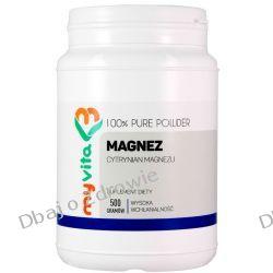 Magnez (Cytrynian Magnezu), Proszek, MyVita, 500g Odporność