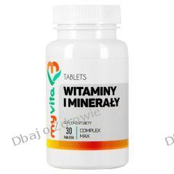 Witaminy i Minerały Complex Max, MyVita, 30 tabletek Preparaty witaminowo-mineralne