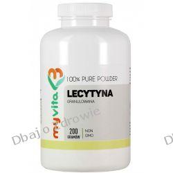 Lecytyna w Proszku Granulowana NON-GMO, Myvita, 200g Algi
