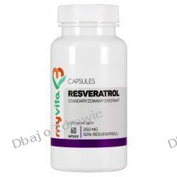 Resveratrol 250mg, Myvita, 60 kapsułek Przyprawy i zioła