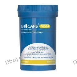 BICAPS MSM, Formeds, (Metylosulfonylometan), 60 kapsułek Kremy i maści
